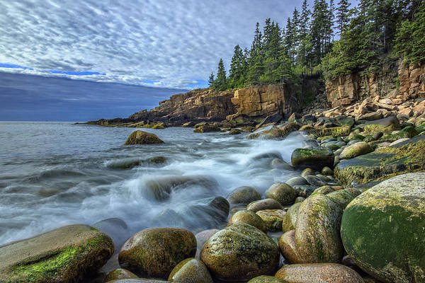 Acadia National Park Wall Art - Photograph - Morning In Monument Cove by Rick Berk