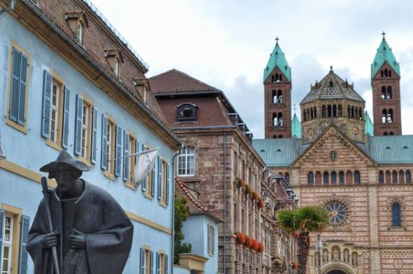 Wall Art - Photograph - Morning In Speyer by Michael Biggs
