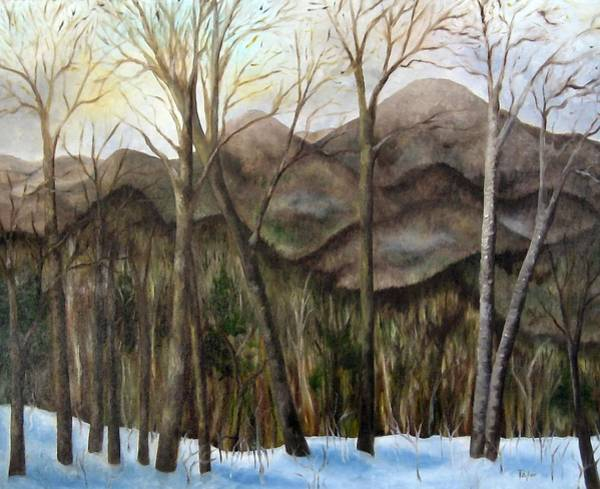 Painting - Morning In The North Country by FT McKinstry