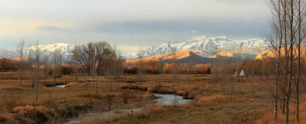 Morning In The Wasatch Back. Art Print