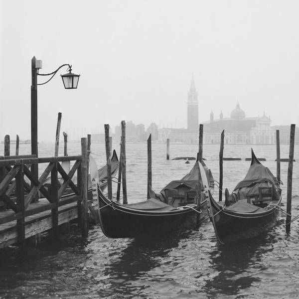 Gondola Photograph - Morning In Venice by Yuppidu