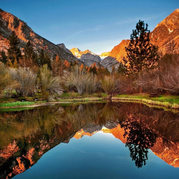 Sierra Nevada Mountains Photograph - Morning Light by Aron Kearney