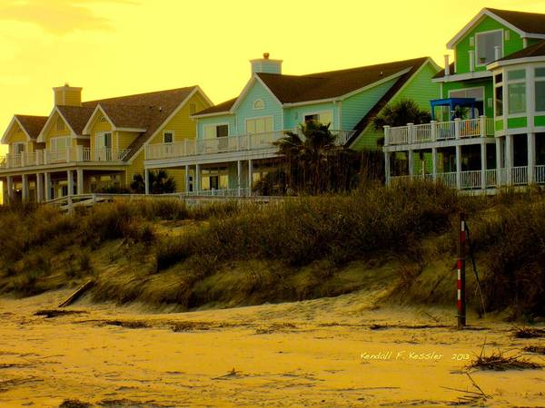 Photograph - Morning Light At Isle Of Palms by Kendall Kessler