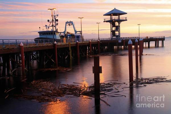 Photograph - Morning Light At Port Angeles by Adam Jewell