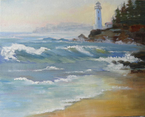 Painting - Morning Light by Judy Fischer Walton