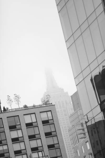 Wall Art - Photograph - Morning Mist In New York City by Jimmy Taaffe