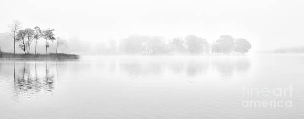 Loch Ard Photograph - Morning Mist Loch Ard by Janet Burdon