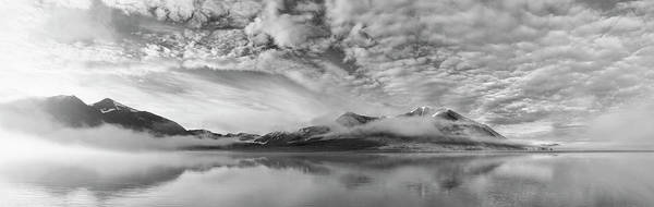Cloudy Photograph - Morning Mist by Marloes Van Pareren