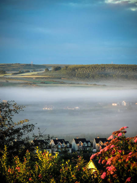 Photograph - Morning Mist Over Lissycasey by James Truett