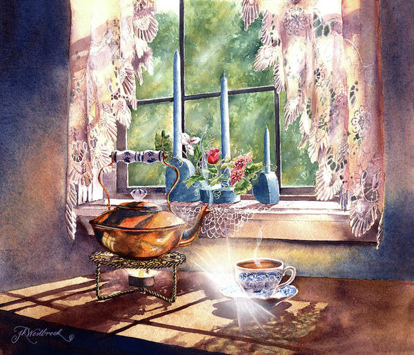 Painting - Morning Moment by Jill Westbrook