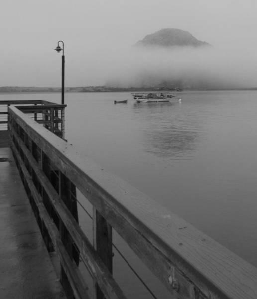 Photograph - Morning Morro Bay Fog by Tony and Kristi Middleton