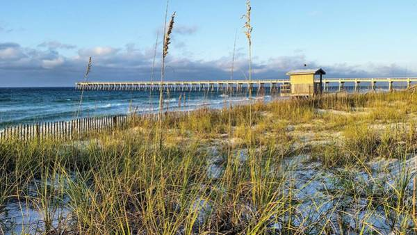 Wall Art - Photograph - Morning On Navarre Beach by JC Findley