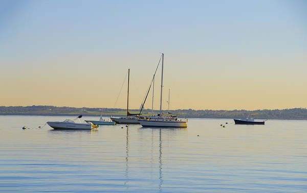Photograph - Morning On Third Beach - New Port Rhode Island by Bill Cannon