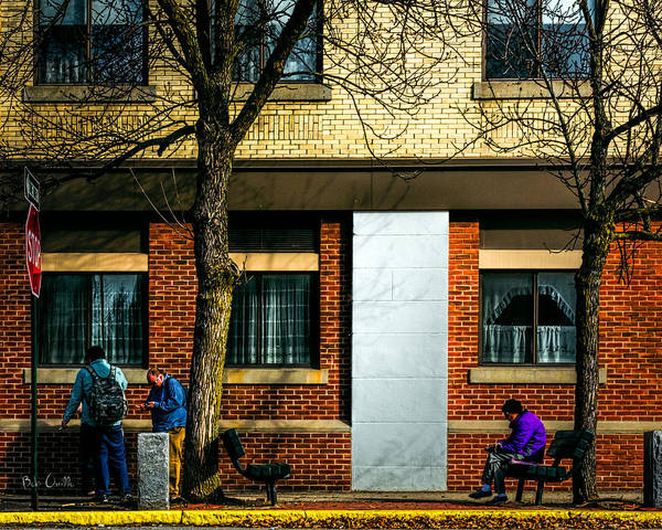 Elderly Wall Art - Photograph - Morning People by Bob Orsillo