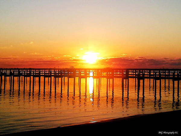 Photograph - Morning Pier by Marty Gayler
