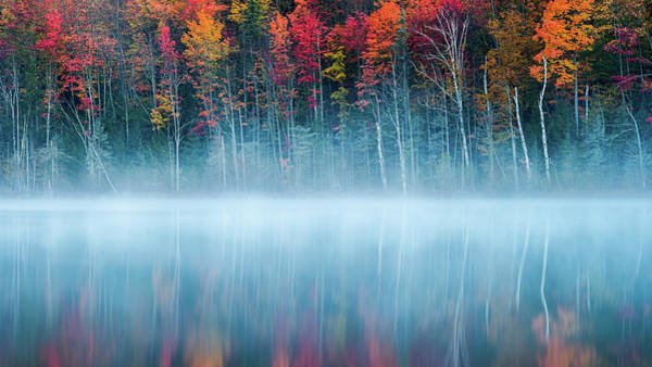 Atmosphere Wall Art - Photograph - Morning Reflection by John Fan