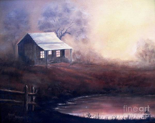 Wall Art - Painting - Morning Reflections by Hazel Holland