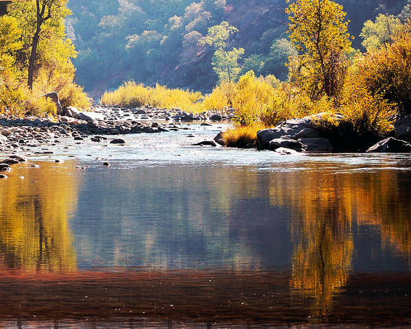Photograph - Morning Reflections Of Fall by William Havle