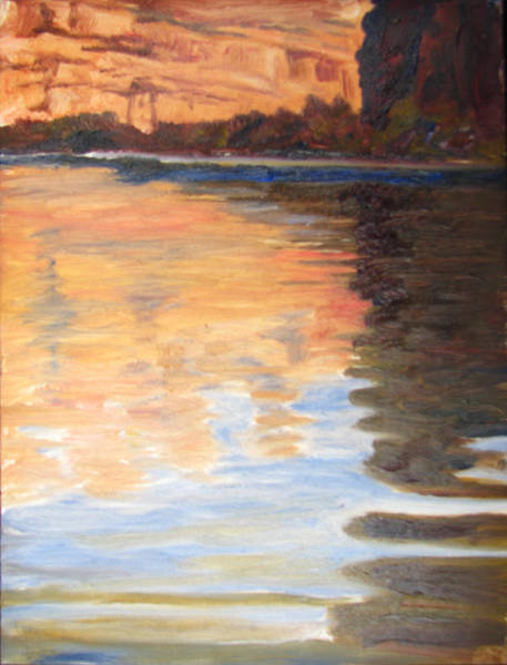 Painting - Morning Reflections by Page Holland
