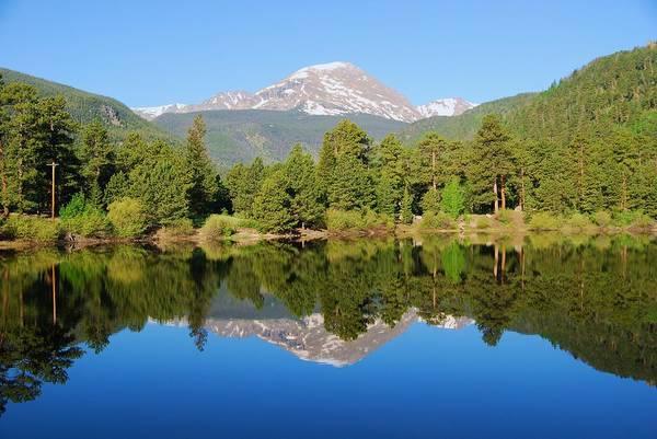 Photograph - Morning Rocky Mountain Reflection  by Cascade Colors