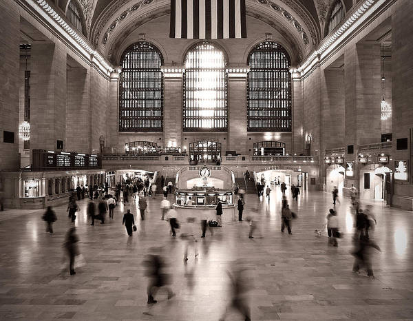 Photograph - Morning Rush - Grand Central Terminal by James Howe