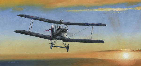 Air War Painting - Morning Serenade by Wade Meyers
