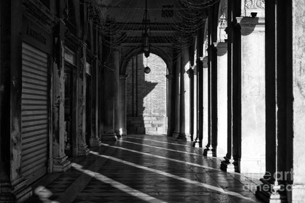 Wall Art - Photograph - Morning Shadows In San Marco by John Rizzuto