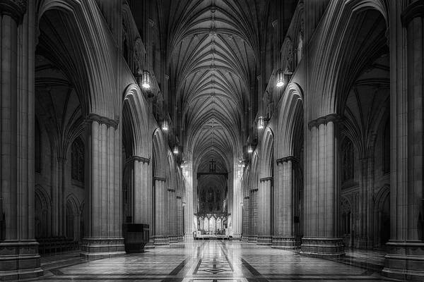 Cathedral Photograph - Morning Solitude by Christopher Budny