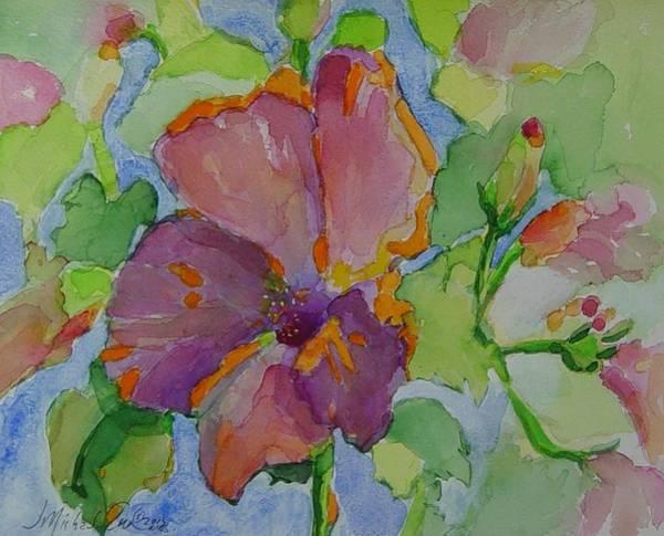 Snapdragons Painting - Morning Splendor by J Michael Orr