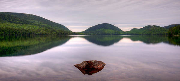 Wall Art - Photograph - Morning Stillness On Eagle Lake, Acadia by Panoramic Images