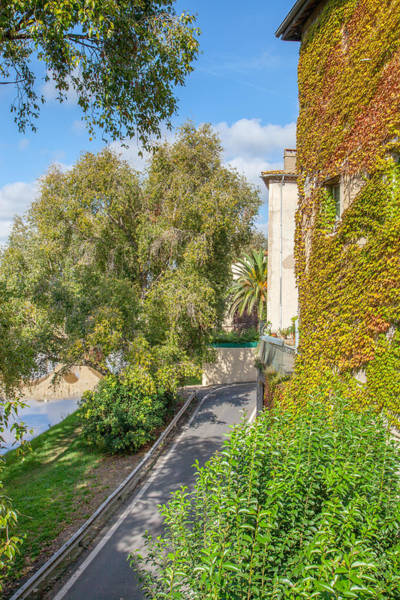 Wall Art - Photograph - Morning Stroll In Beziers by W Chris Fooshee