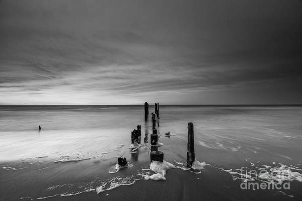 Reverse Wall Art - Photograph - Morning Suds Bw by Michael Ver Sprill