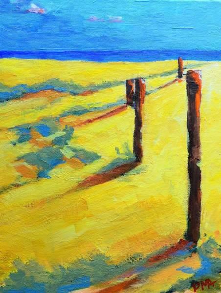 Painting - Morning Sun At The Beach by Patricia Awapara