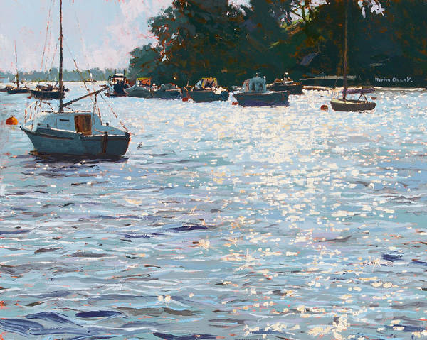 Sea Salt Painting - Morning Tide by Martin Decent