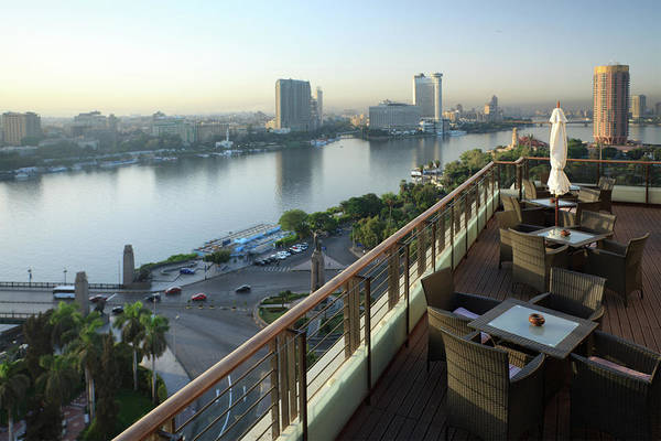 Wicker Chair Photograph - Morning View Of Cairo by Mura