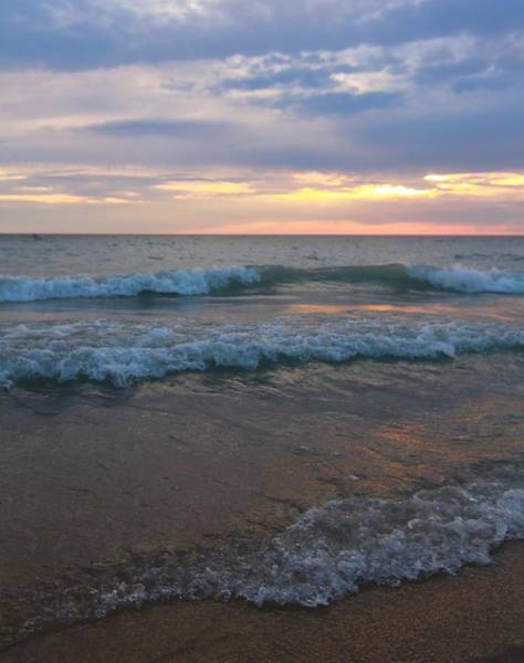 Destin Photograph - Morning Waves by Dan Sproul