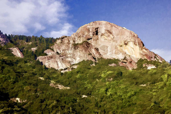 Digital Art - Moro Rock by Photographic Art by Russel Ray Photos