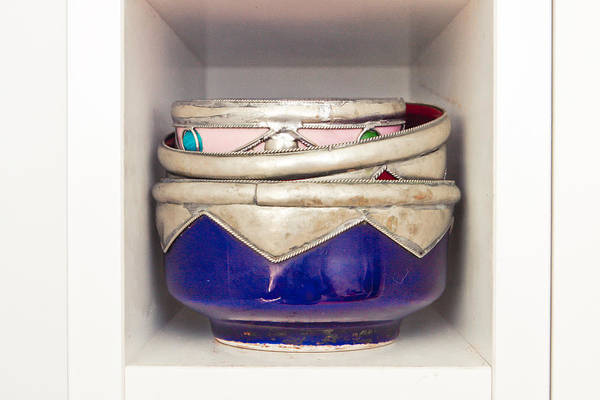 Ceramic Photograph - Moroccan Bowls by Tom Gowanlock