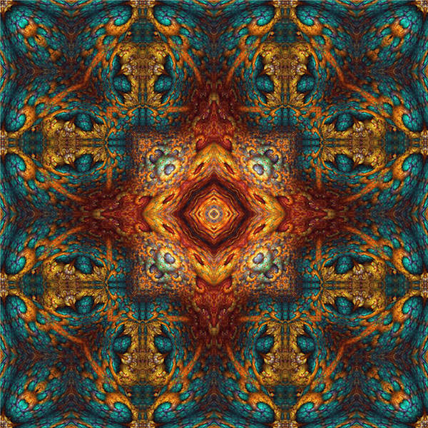 Digital Art - Moroccan Fantasy No 2 by Charmaine Zoe