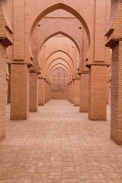 North Africa Wall Art - Photograph - Morocco, Marrakech, Tinmal by Emily Wilson