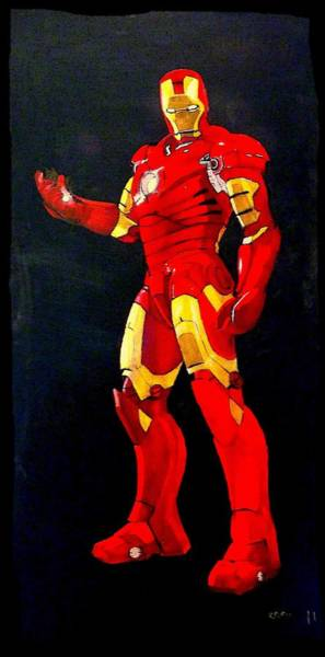 Painting - Iron Man by Richard Le Page
