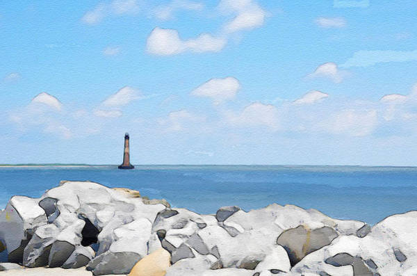 Wall Art - Photograph - Morris Island Lighthouse by Dave Sandt