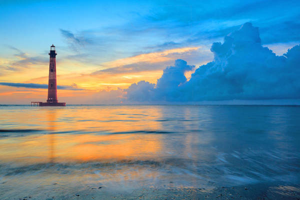 Photograph - Morris Island Lighthouse by Keith Allen