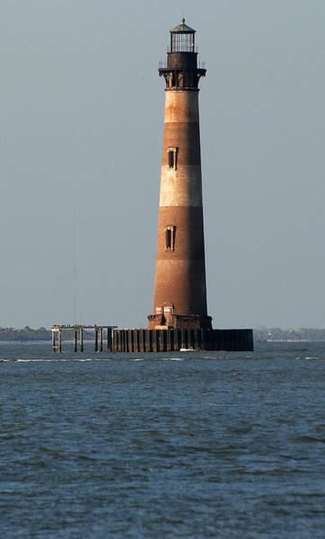 Jetti Wall Art - Photograph - Morris Island Lighthouse by Pat Exum