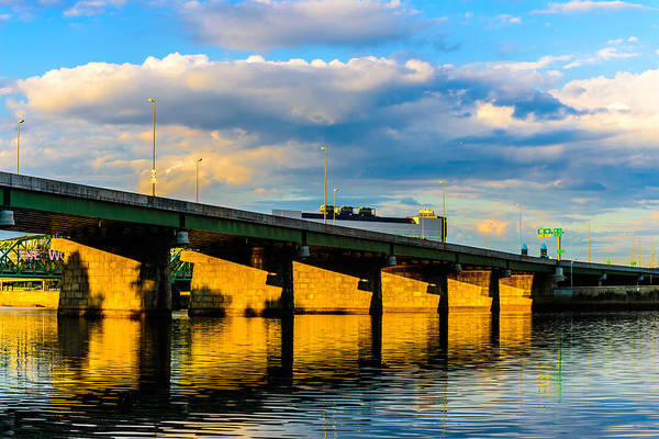 Photograph - Morrisville Bridge by Louis Dallara