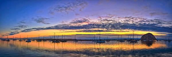 Photograph - Morro Bay Panorama by Beth Sargent