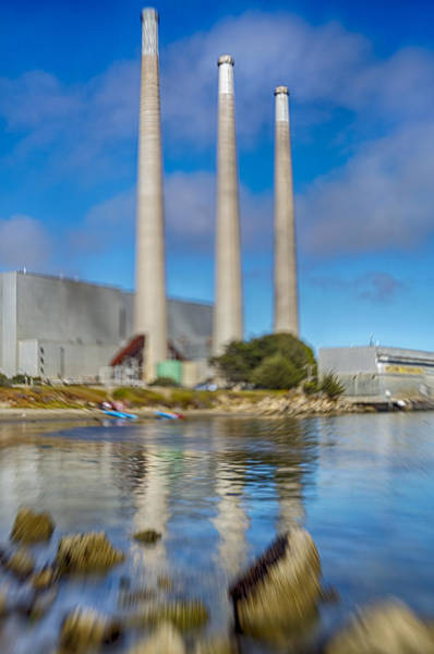Photograph - Morro Bay Power Plant Lens Baby by Scott Campbell