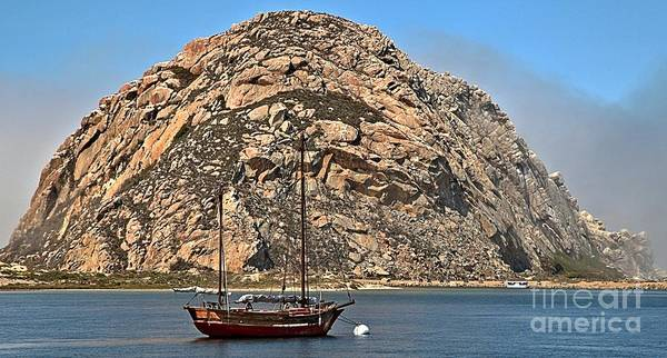 Photograph - Morro Rock by Adam Jewell