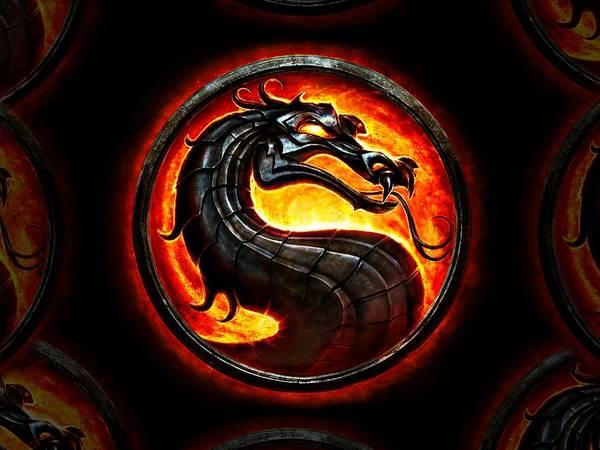 Wall Art - Painting - Mortal Kombat Dragon by Movie Poster Prints