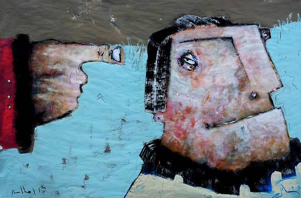 Surrealistic Painting - Mortalis No. 16 by Mark M  Mellon